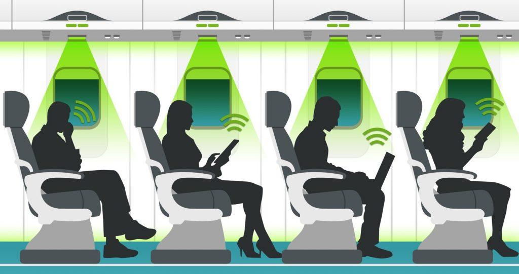 Li-Fi Ucaklarda kullanınımı
